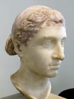 Busto de Cleopatra do Museu de Arte de Berlim