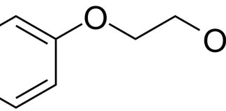 Estrutura química do fenoxietanol, 2-phenoxyethanol