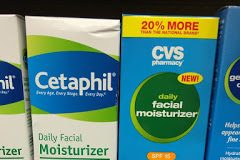 Contratipo CVS do hidratante facial Cetaphil com FPS 15