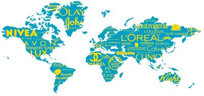 As 50 maiores marcas globais da indústria da beleza em 2012 segundo a Brand Finance
