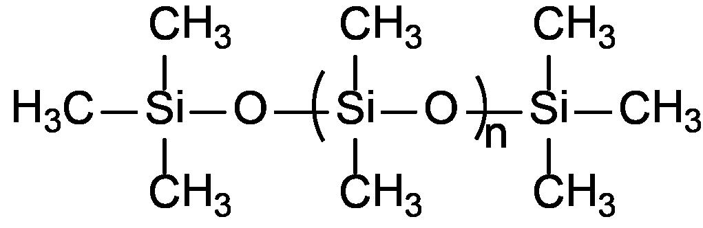 Estrutura geral dos silicones.