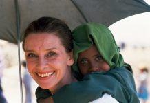 Audrey Hepburn em 1988.