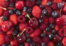 Frutas vermelhas são ricas em vitaminas e antioxidantes