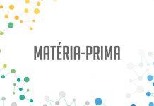 capa padrão página de matéria-prima