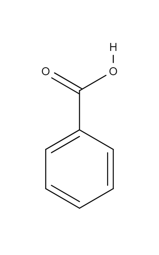 benzoic acid Benzoic Acid BENZOIC ACID structural formula