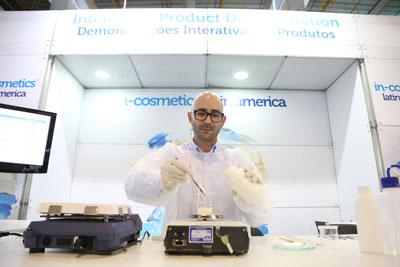 Cleber Barros, Consultor Técnico Oficial LATAM da in-cosmetics Latin America