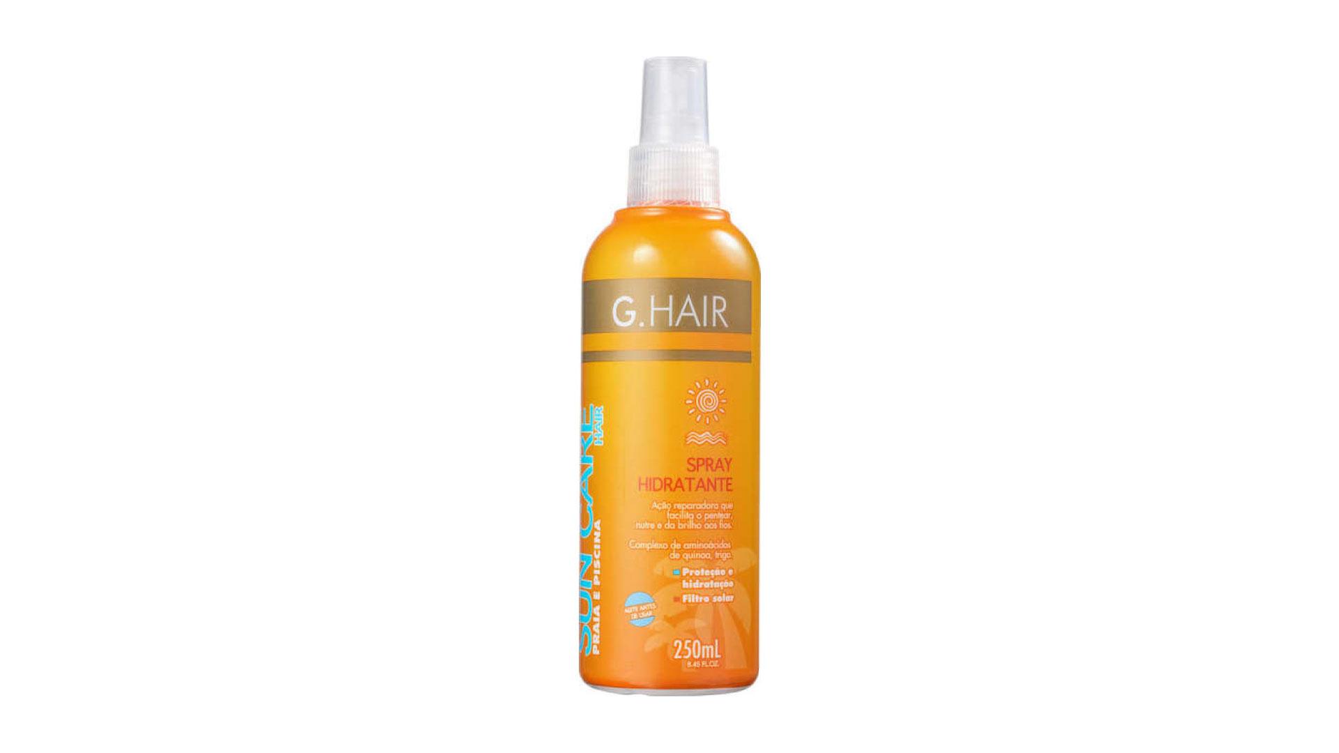 G.Hair Spray Hidratante Sun Care Praia e Piscina