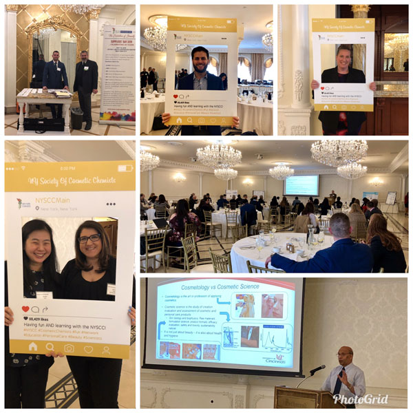 o evento Cosmetic Science in Academia reuniu estudantes, profissionais e pesquisadores para discutir a formação em ciência cosmética