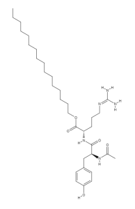 Acetyl Dipeptide-1 Cetyl Ester ACETYL DIPEPTIDE 1 CETYL ESTER structural formula e1566774058708 194x300