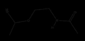 Acetamidoethoxyethanol Acetamidoethoxyethanol structural formula e1566772970710 300x146