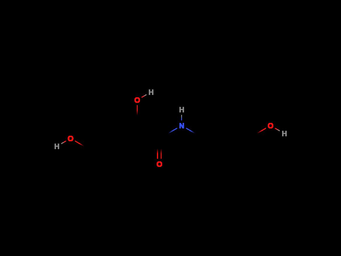 Panthenol Panthenol structural formula