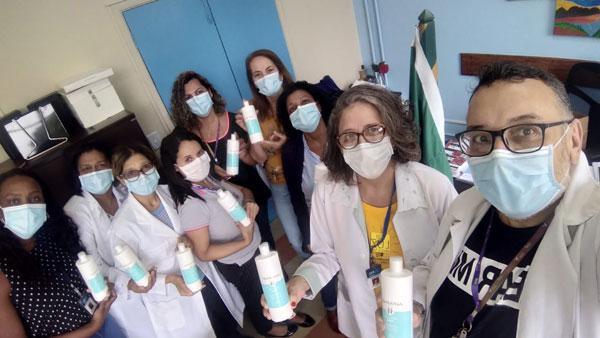 Grupo Alfaparf lança projeto #apoieabeleza com iniciativas de apoio ao combate à pandemia 20200616 Alfaparf Doacao no hospital Alvaro Ramos 01