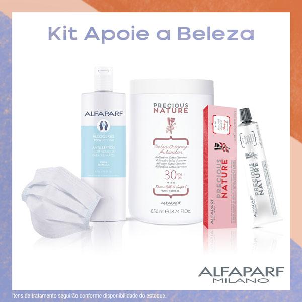 Grupo Alfaparf lança projeto #apoieabeleza com iniciativas de apoio ao combate à pandemia 20200616 Alfaparf Kit Alfaparf Milano