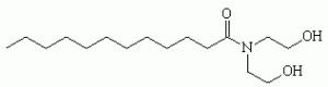estrutura quimica da dietanolamina cocamida (cocamide dea)